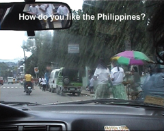 How do you like the Philippines?